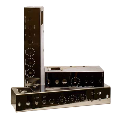 Amp-Chassis + Faceplates