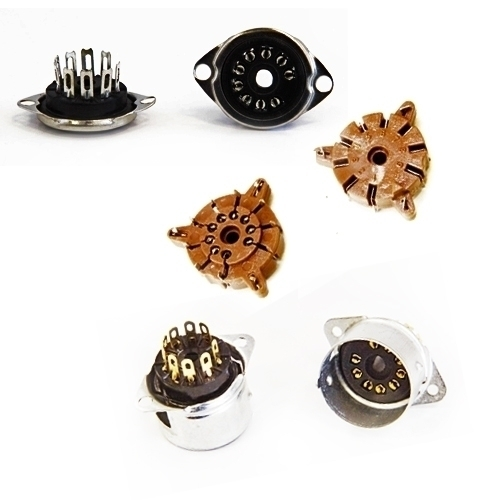 Tube sockets and Accessories