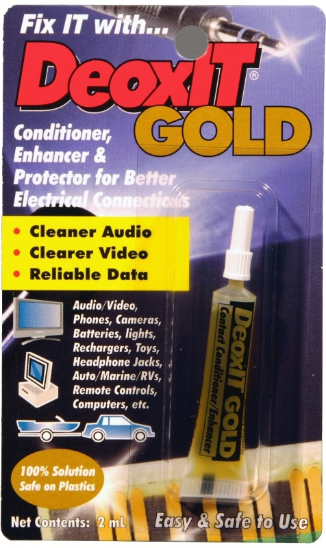 Squeeze Tube DeoxIT® GOLD G100L 100/% solution 2 mL