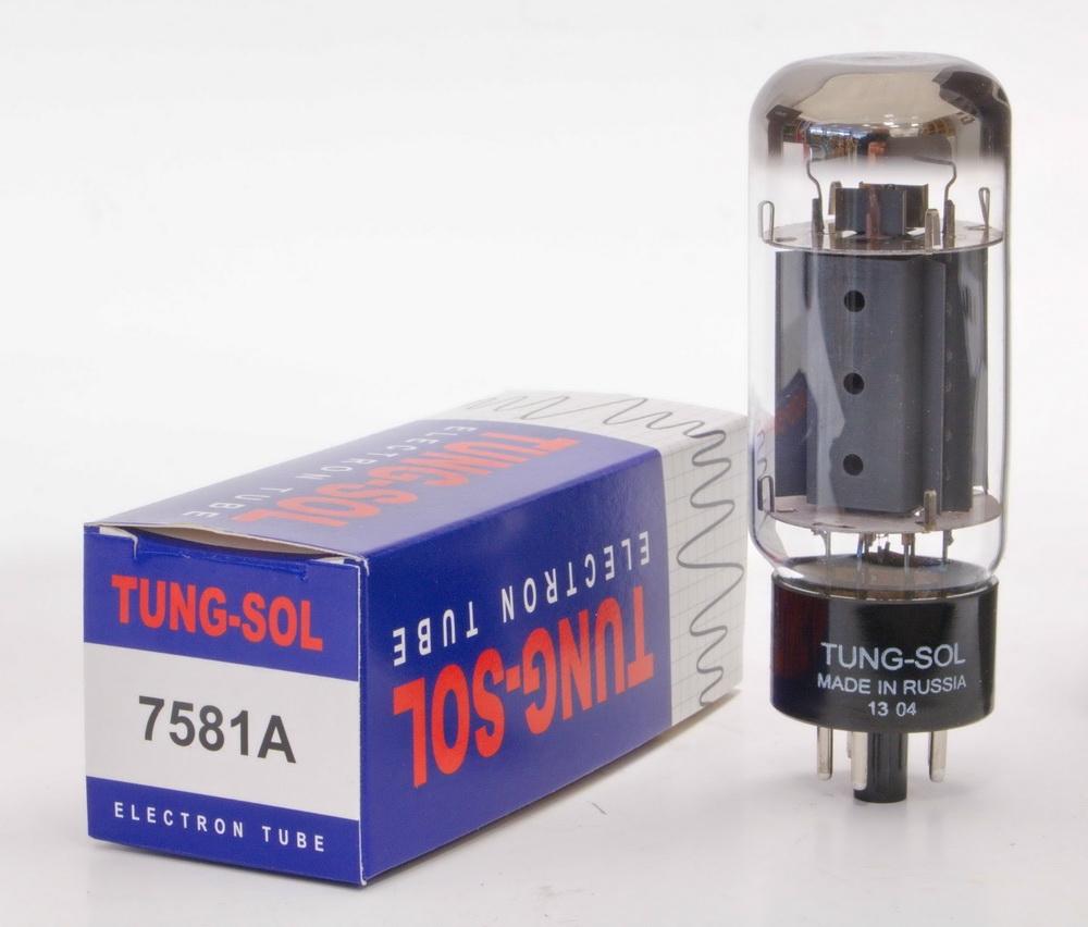 1x Tung Sol 7581 Tungsol TS Vacuum Tube 6L6GC TESTED